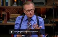 "Larry King Calls Marijuana Legalization ""Logical"""