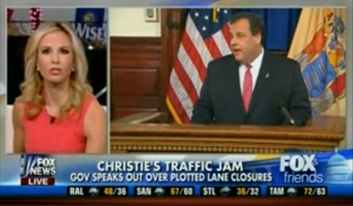 Fox & Friends Praise Gov. Chris Christie