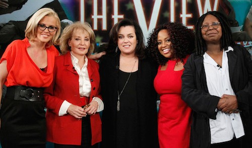 Rosie O'Donnell returns to The View