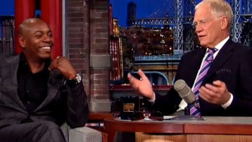Dave Chappelle on Letterman