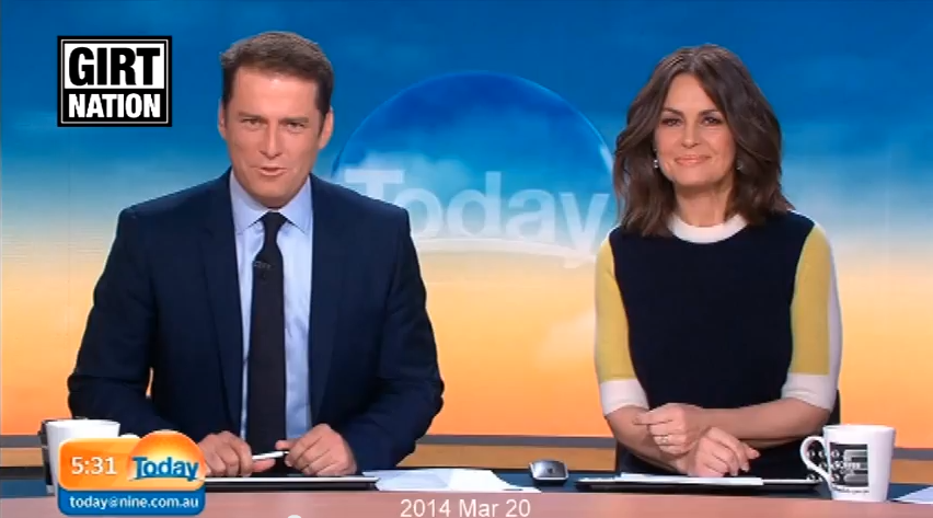 Aussie TV morning host wears same suit on air for a year, no one notices