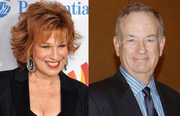 Joy Behar and Bill O'Reilly