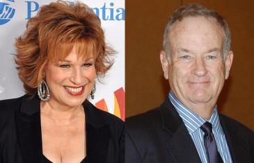 Joy Behar and Bill O'Reilly
