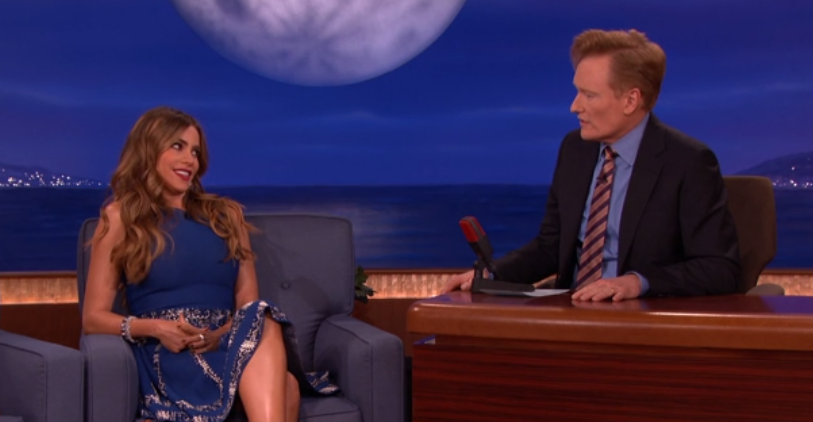 "Sofia Vergara Tells Conan: ""It's Dangerous to Be a Stripper"""