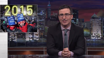 John Oliver Discusses New Year's Eve in a Web Exclusive