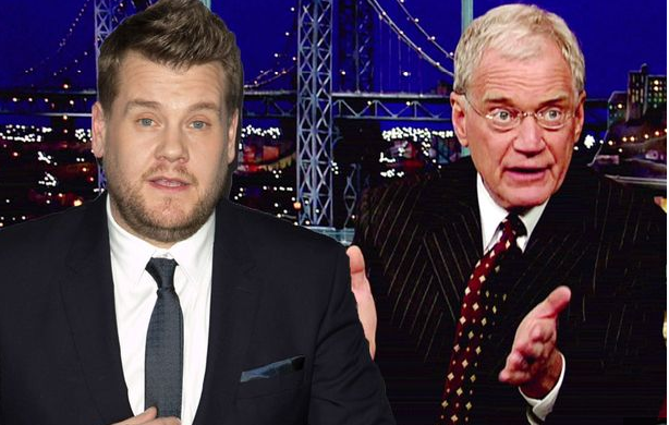 David Letterman Blasts James Corden over Late, Late Show Delay