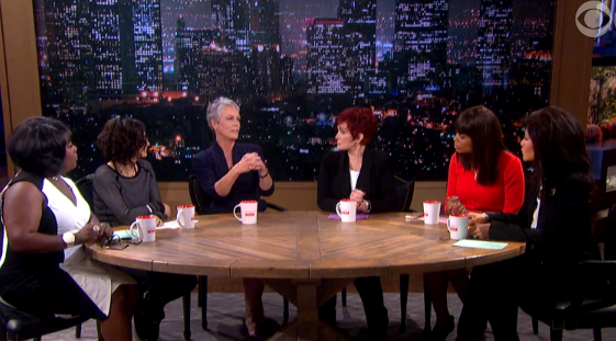 "Jamie Lee Curtis previews her new movie ""Spare Parts"" on ""The Talk"""