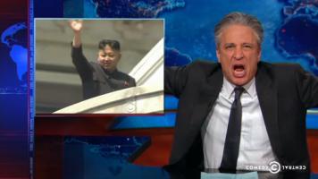 Jon Stewart Mocks North Korea Sanctions