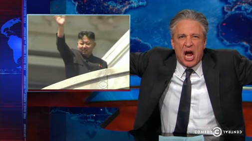 Jon Stewart Mocks North Korea Sanctions