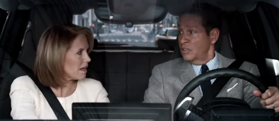 Super Bowl Spot Reunites Katie Couric and Bryant Gumble