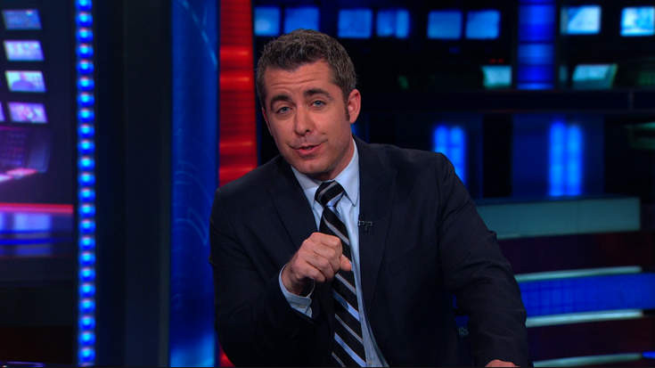 "Jason Jones Leaving ""The Daily Show"""