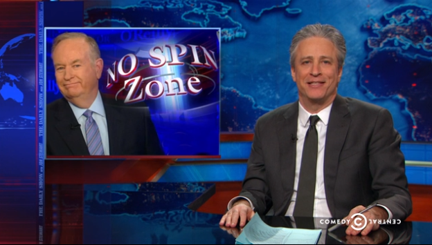 Jon Stewart Defends Bill O'Reilly