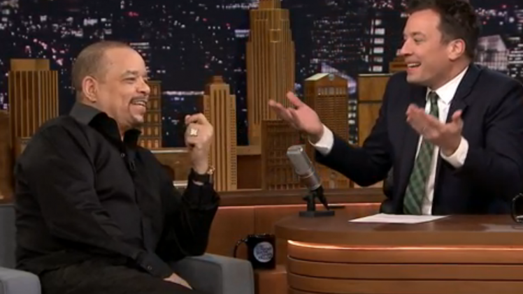 Ice T Re-Voices Cartoons on 'The Tonight Show'