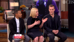 """The Cast of """"CSI: Cyber"""" on """"The Talk"""""""