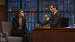 """Keri Russell looks back on the """"Mickey Mouse Club"""" on """"Late Night"""""""