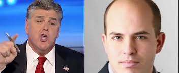 The Feud Between Fox's Sean Hannity and CNN's Brian Stelter Heats Up