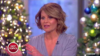 Candace Cameron Bure Says She's Leaving The View