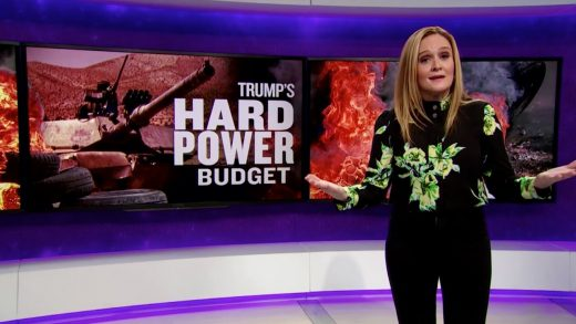 Trump's Hard Power Budget | Full Frontal with Samantha Bee | TBS