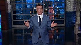 The Late Show with Stephen Colbert -Trump Leaves For First Overseas Trip