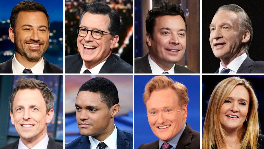 Poll Finds – Stephen Colbert, Jimmy Kimmel Viewed as Most Liberal Late-Night Hosts